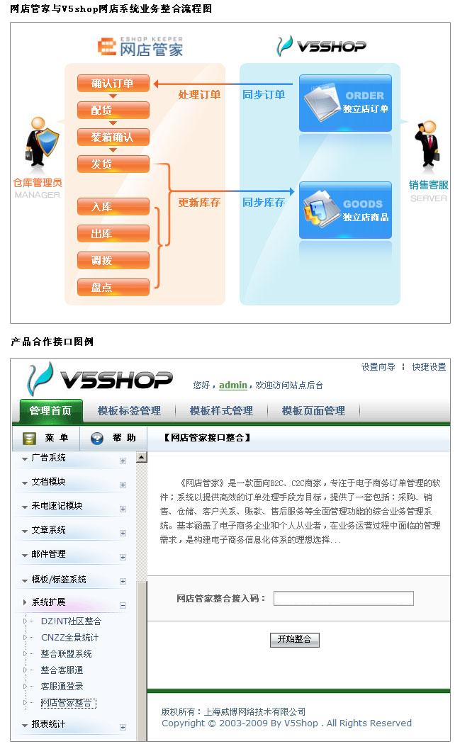 从现在起,凡V5SHOP用户购买网店管家产品均可享受8折优惠.-网图片